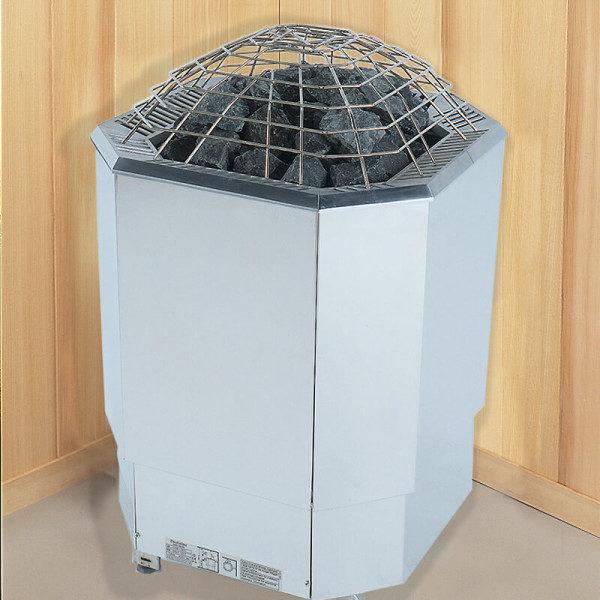 Finnleo sauna floor heaters at Thatcher Pools & Spas