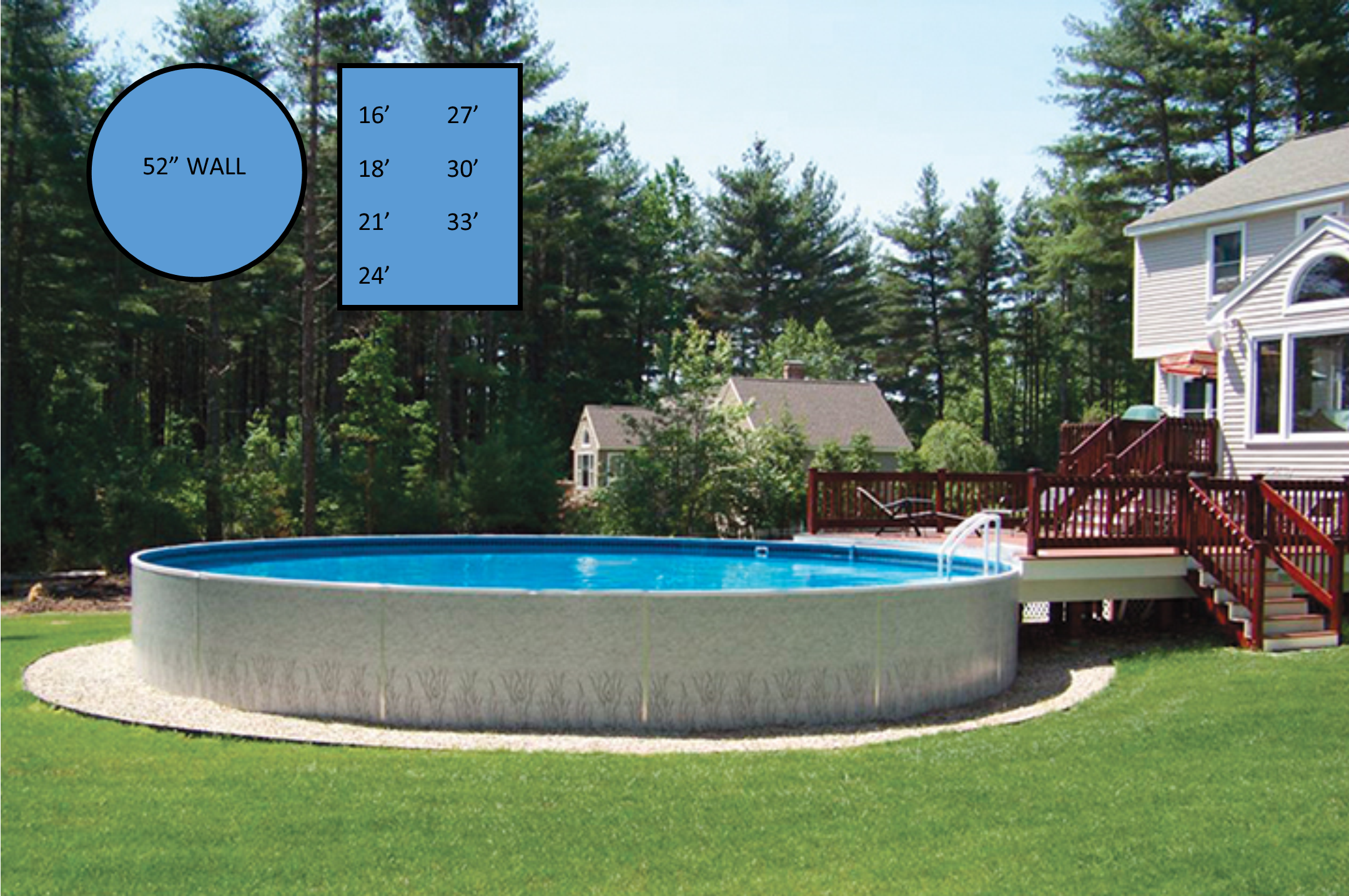 Radiant Above Ground Pools Thatcher Pools And Spas