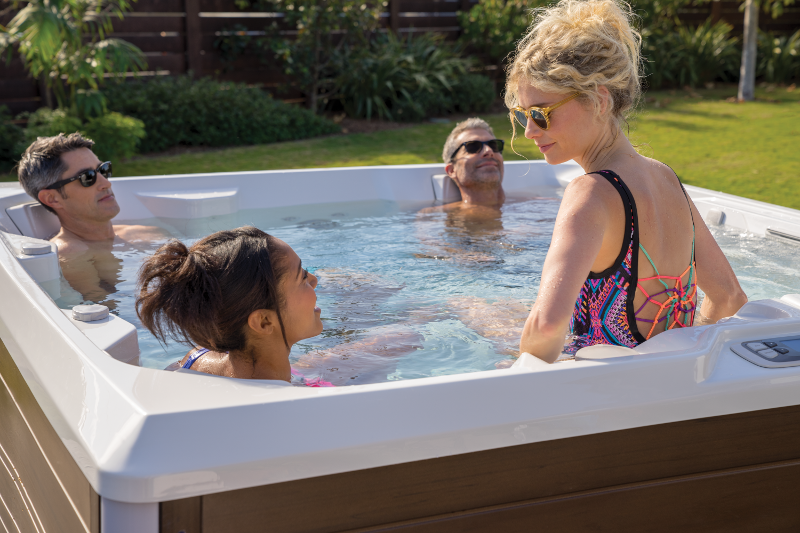 HotSpring Spas, Every day made better, hot tubs that will help lose weight, exercise and spas, stress and hot tubs, will hot tub lower stress, weight gain due to stress