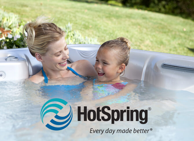 Hot Spring Water Care Family Image