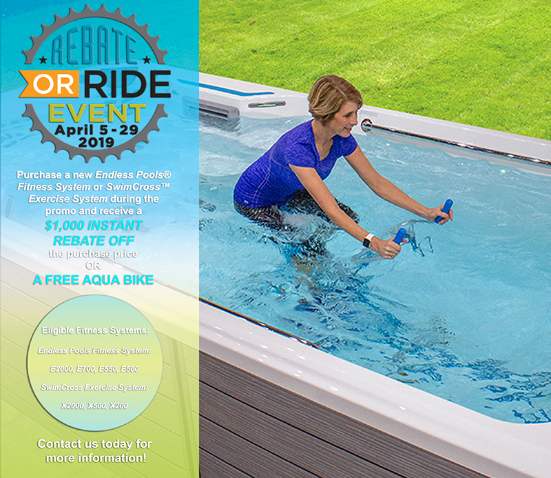 Endless Pools Rebate Or Ride Event Thatcher Pools And Spas