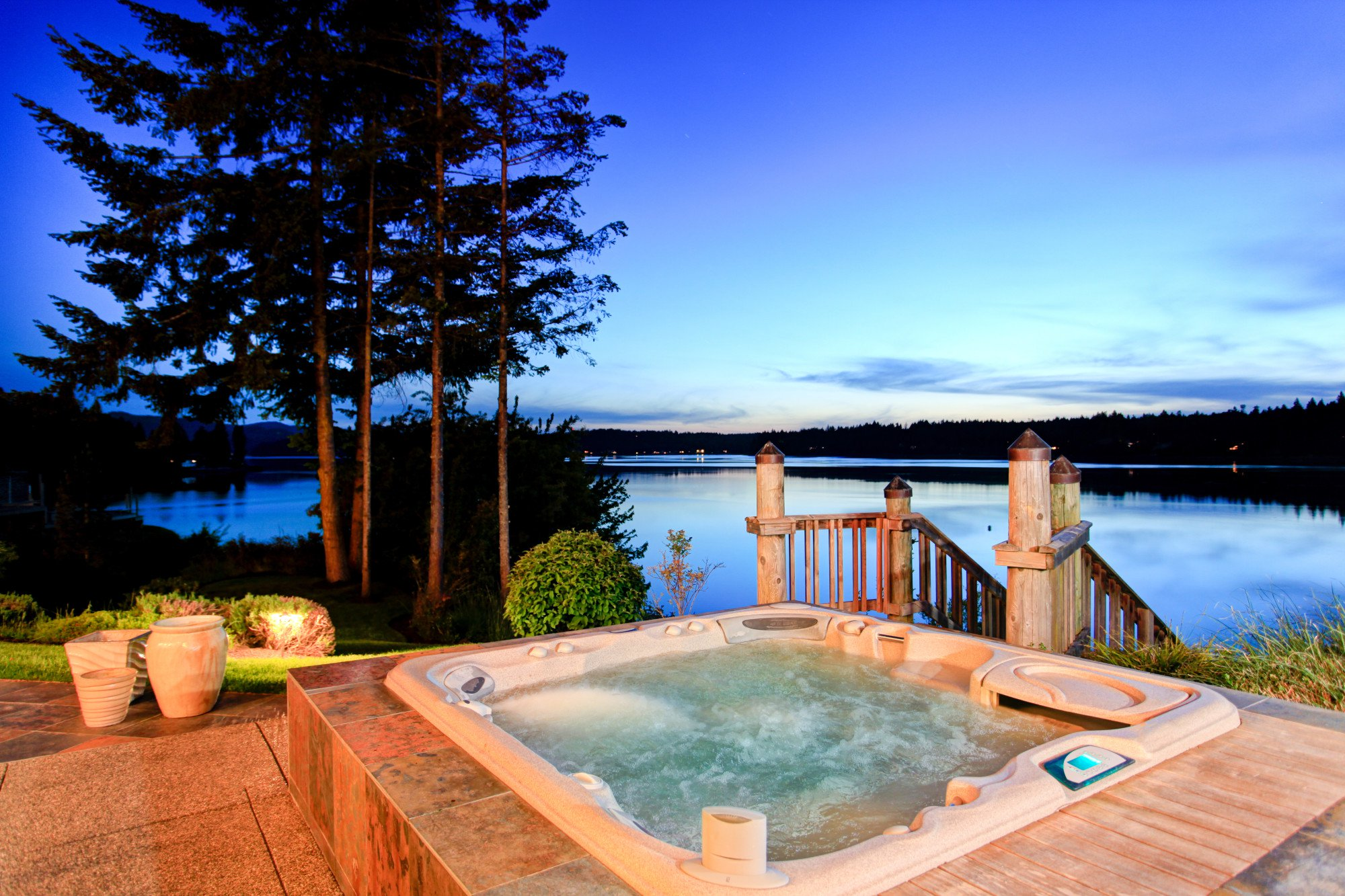 Skip the Spa Trip: The Soothing Benefits of Installing a Hot Tub